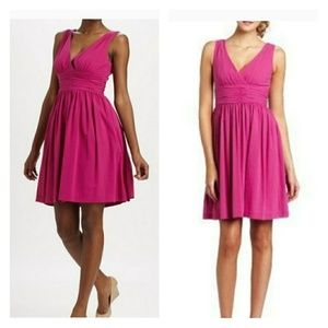 Trina Turk Pink Reina Fit and Flare Dress